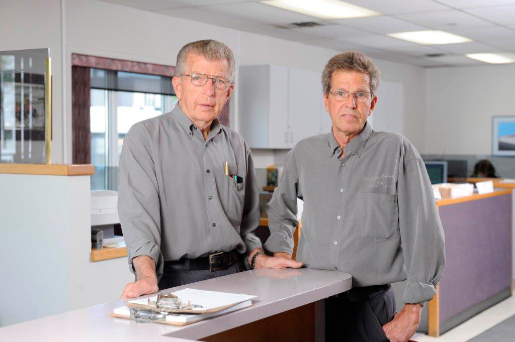 Dave and Peter - Owner and Partner of Auto Body Repair Shop